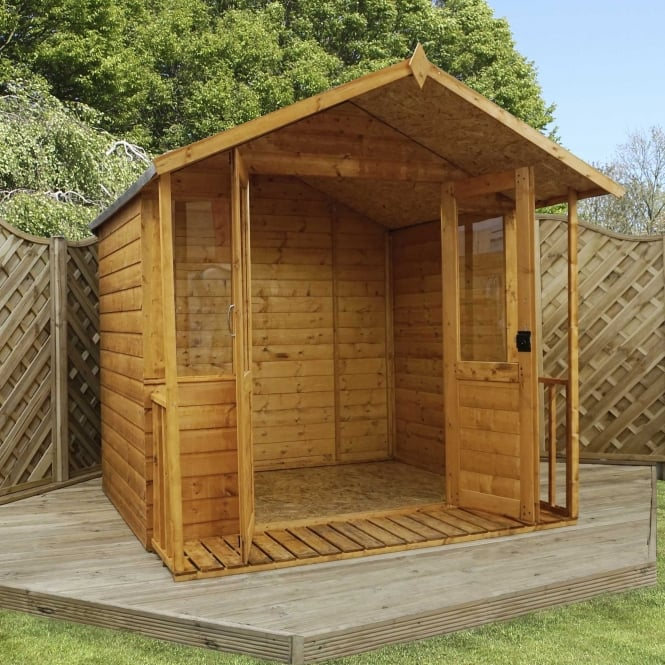 Mercia 8 x 7 Traditional Shiplap Summerhouse