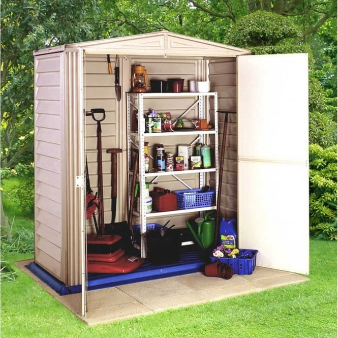 Image of Little Hut 5 x 3 Plastic Storage Shed