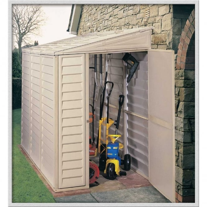 Image of Sidemate 4 x 8 Lean-To Plastic Shed