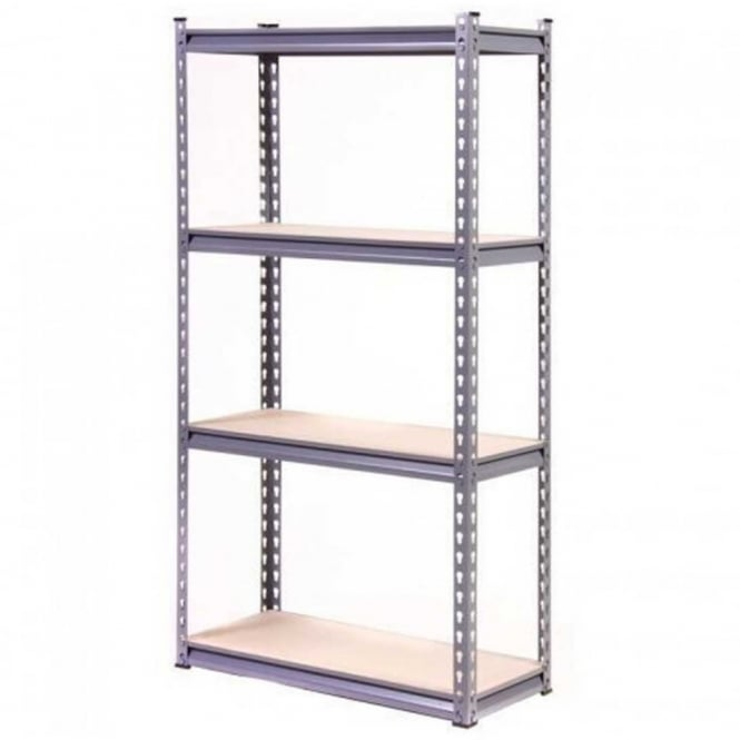 Storemore Globel Silver Heavy Duty 4 Tier Shelving Unit