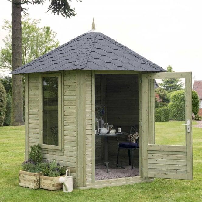 Forest Garden Henley FSC Summer House 8 Sided Hexagonal