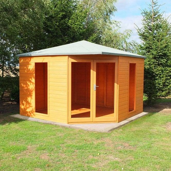 Image of 10 x 10 Larkspur Corner Summerhouse