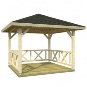 Betty 9.0m/sq Gazebo
