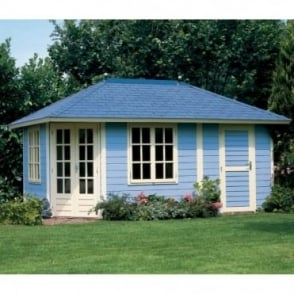 Prima 5th Avenue Duo Maxi CLASSIC Summer House 300cm x 480cm Penatgonal