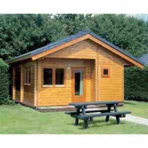 Madrid Log Cabin 5.5m x 6.0m