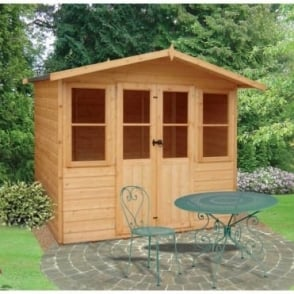 Haddon Garden Summerhouse 7ft x 5ft Double Doors
