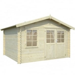 Whitewood Severine Log Cabin: 3.55m x 3.25m