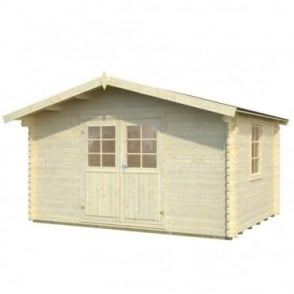 Whitewood Elbe Log Cabin 4.0m x 3.0m