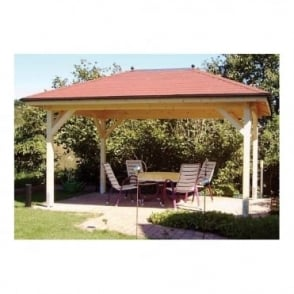Helena Open Sided Gazebo with Sloped Roof