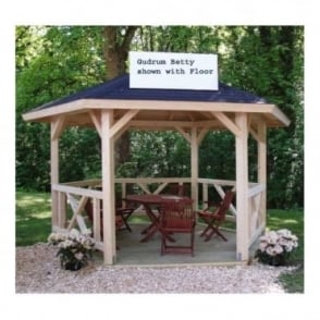 Betty 9.9m/sq 6 sided Gazebo
