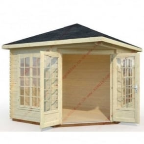 Melanie 6.8m/sq Corner Summer House