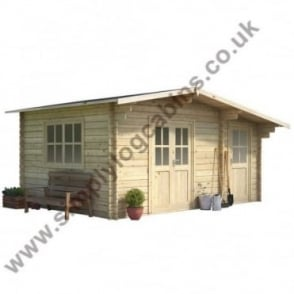 Buckminster Log Cabin