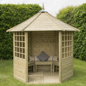 Forest Garden Arden Hexagonal Gazebo