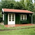 Lugarde Malibu Log Cabin 4.0m x 4.0m