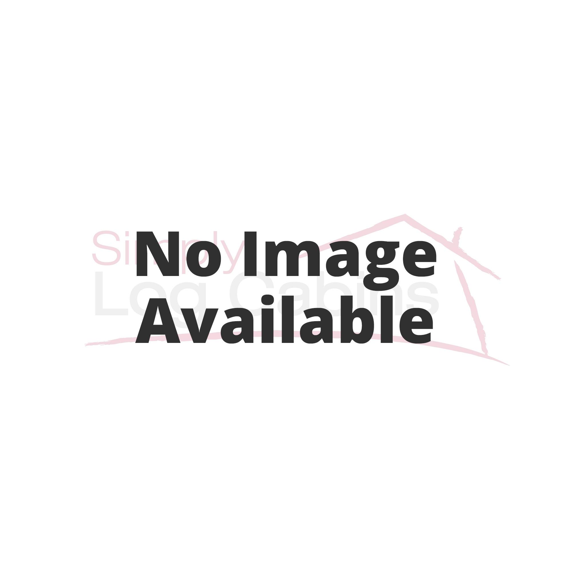 garden log bulldog british made cabins logcabins dog hand bull cabin