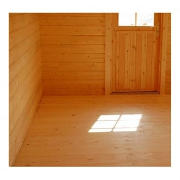 Gudrum Eco Cabins Floor