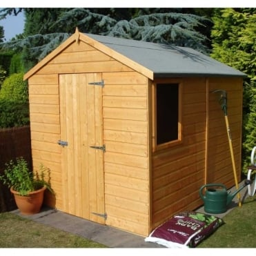 Shire Durham 8ft x 6ft Garden Shed Single Door