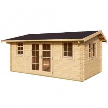 Leicester Log Cabin