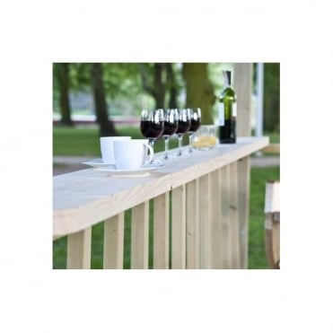 Jagram Wooden Drinks Shelf Option
