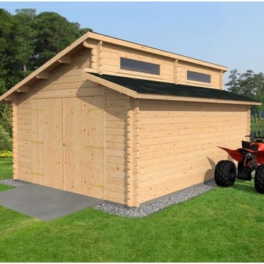 High Quality Wooden Garages For Sale Simply Log Cabins