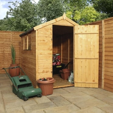 Mercia 7 x 5 Shiplap Apex Shed Single Door