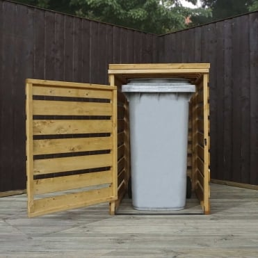 Mercia 3 x 3 Wooden Single Bin Store
