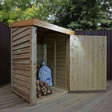 Mercia 3 x 3 Pressure Treated Overlap Storage Unit