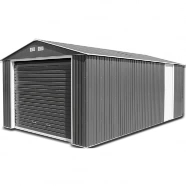 storemore metal sheds and garages available at simply log cabins