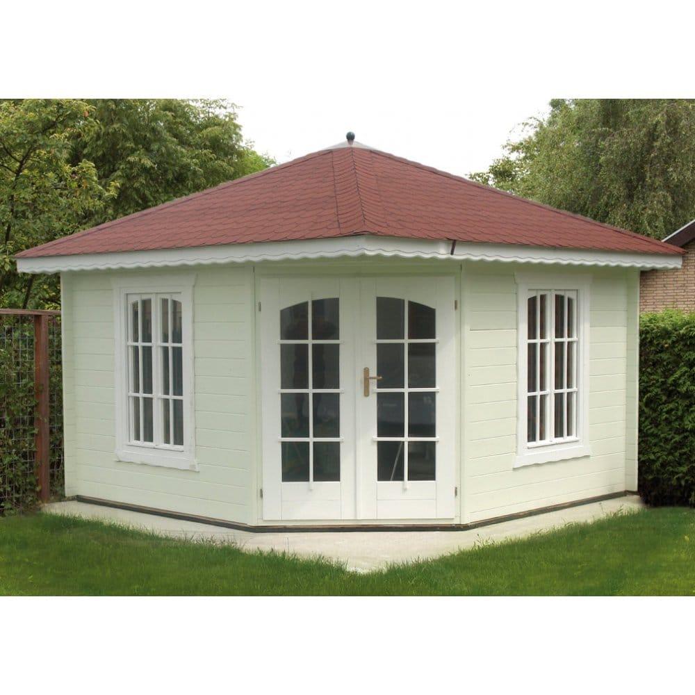 bertsch holzbau panta 8 corner log cabins 34mm walls. Black Bedroom Furniture Sets. Home Design Ideas