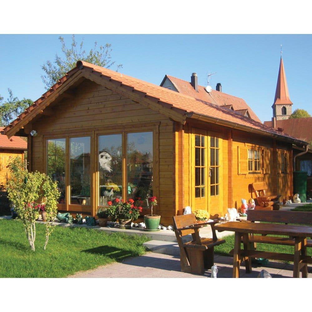 Bertsch Ransom Multi Room Log Cabins With Mezzanine Floor