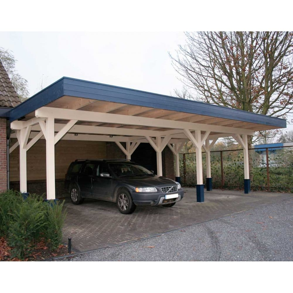 Bertsch triple carport x large 120mm glu lam posts for 2 car carport plans free