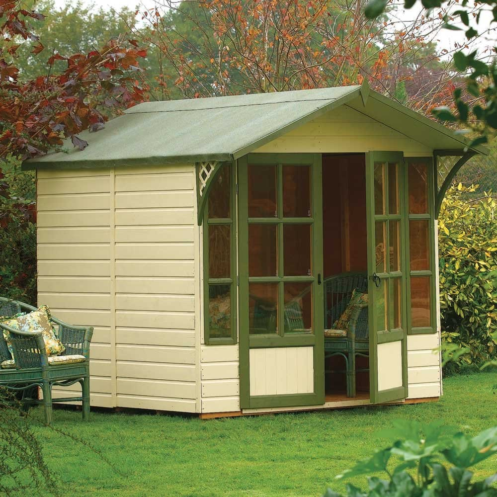 Rowlinson eaton summer house for Garden in the house