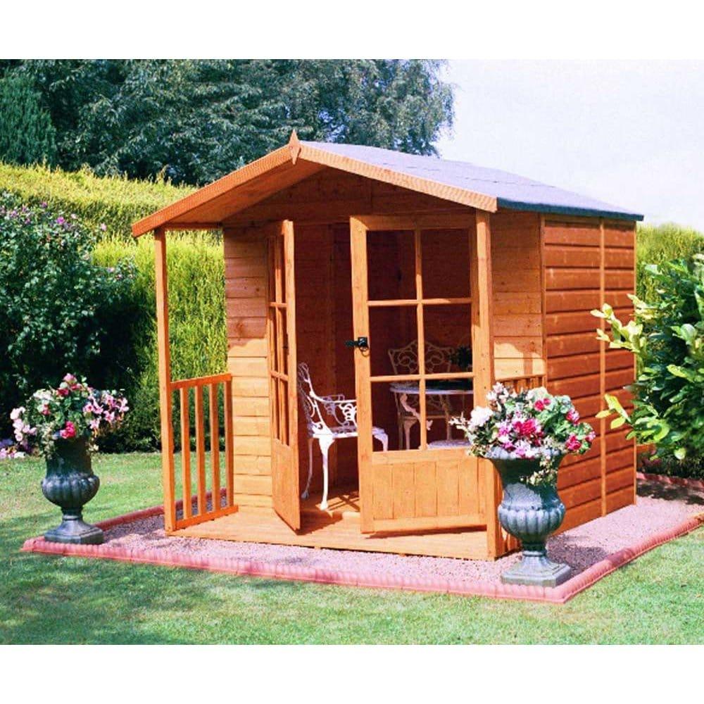 Relaxed Garden Summer House: Alnwick Summerhouse 7ft X 7ft
