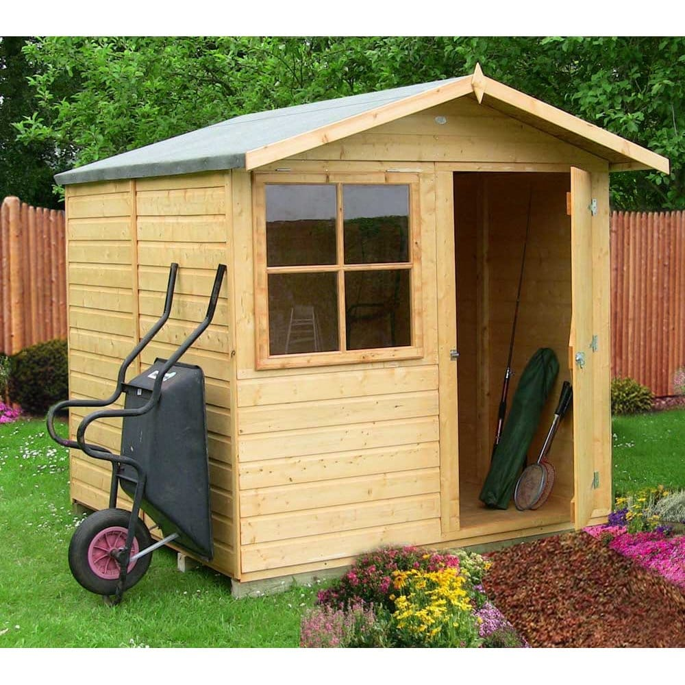 Garden Sheds 7x7 garden sheds 7x7 - abri garden shed tongue and groove double door