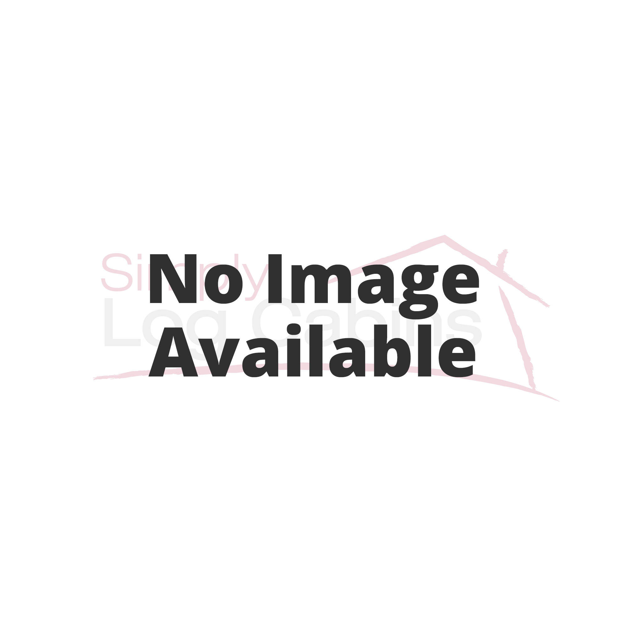 Norland grassington 2 room log cabin for Two room garden shed